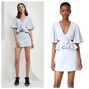 C/MEO 'Lose Control' Cutout Mini Dress